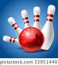 bowling, ball, strike 33951440
