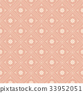 Seamless background vintage retro pattern 33952051