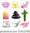 SPA icons set 33952788