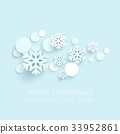 snowflake, vector, background 33952861