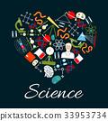 科學 心 向量 33953734