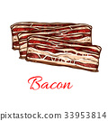 meat, bacon, food 33953814