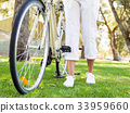 female, woman, bicycle 33959660