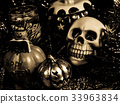 skeletal, halloween, pumpkin 33963834
