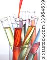 실험 이미지 / 다채로운 시험관 33964639