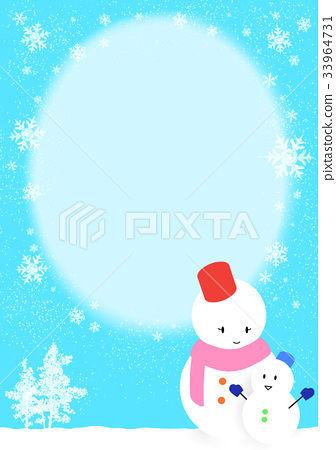 雪人(A5信紙尺寸) 33964731