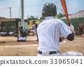 棒球 擊球手 棒球棒 33965041
