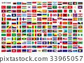 国旗框架的世界 33965057