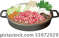 Sukiyaki pot separately 33972029