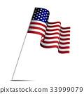 美国 旗帜 旗 33999079