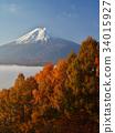 fuji, mountain, fuji-san 34015927