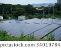 photovoltaic, solar power, solar panel 34019784
