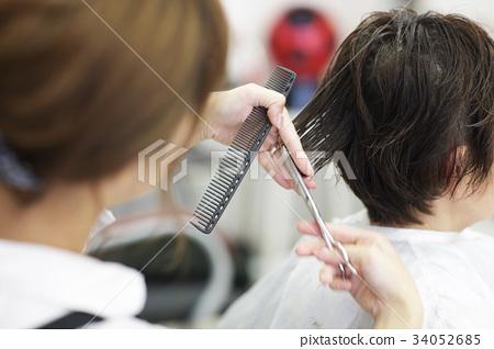 美容院 理发师 美发师 34052685