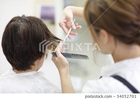 美容院 理发师 美发师 34052701