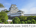 himeji castle, world heritage, castle tower 34057134