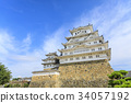 himeji castle, world heritage, castle tower 34057192