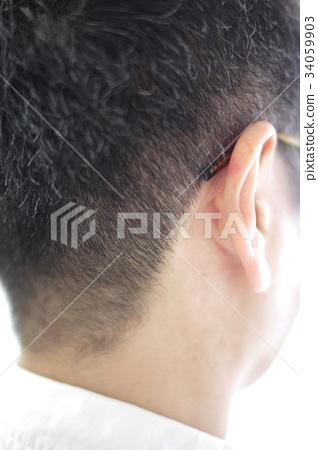 颈部 男性 男 34059903