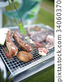 barbecue, barbecued, barbeque 34060370