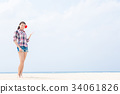 女性 女 女人 34061826