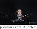 drummer, girl, performance 34062675