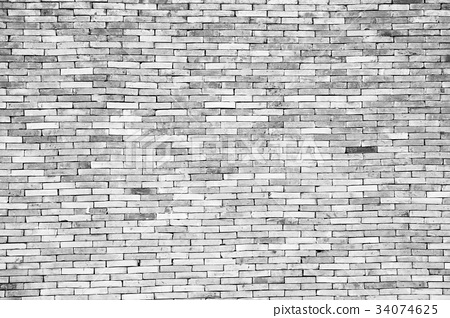 Old white brick wall Texture Design. Empty white 34074625