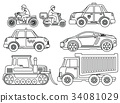 Coloring Book for Kids Cartoon Transport 34081029