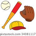 glove, ball, sport 34081117