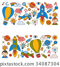 Knowledge Imagination Fantasy Kids drawing style 34087304