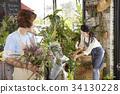 가족, 꽃, 꽃집 34130228