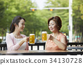 beer, alcohol, glass 34130728
