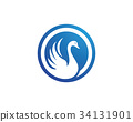 Goose Logo Template 34131901