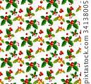 christmas patterns seamless 34138005