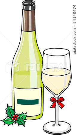 矢量 酒 葡萄酒 34140474