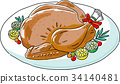 vector, vectors, turkey 34140481