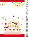 postcard, birthday, birthdays 34148251