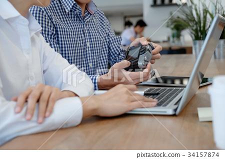 Business People Meeting Planing Brainstorm.  34157874