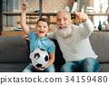 足球 球 祖父 34159480