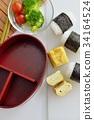 making bento, making lunch box, lunch box 34164524