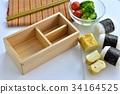 午餐盒制作 34164525
