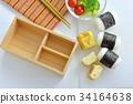 making bento, making lunch box, lunch box 34164638