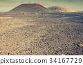 National Park Timanfaya on the island of Lanzarote 34167729