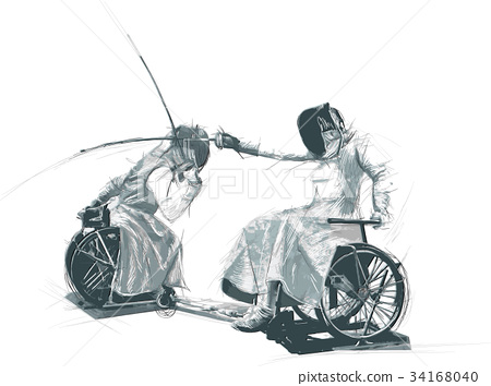 Athletes with physical disabilities - FENCING 34168040