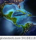 Central America space 3d rendering 34168118