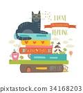 vector fairytale book 34168203