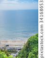 江之岛 镰仓高中前 海洋 34168653