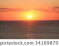 日出 朝阳 太平洋 34169870