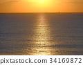 海洋 海 蓝色的水 34169872