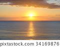 日出 朝阳 太平洋 34169876