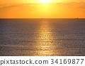 海洋 海 蓝色的水 34169877