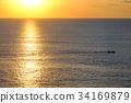 海洋 海 蓝色的水 34169879